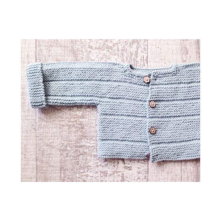Kit de punto de la chaqueta teja ya disponible en www.ilovetricote.com