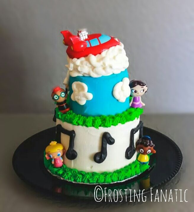 Little Einstein's Cake By Frosting Fanatic