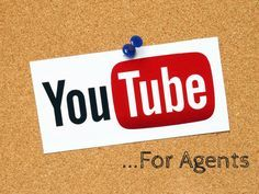 Agents! Are you publishing videos to Youtube? If you're not you really should be, here's how you can get started.