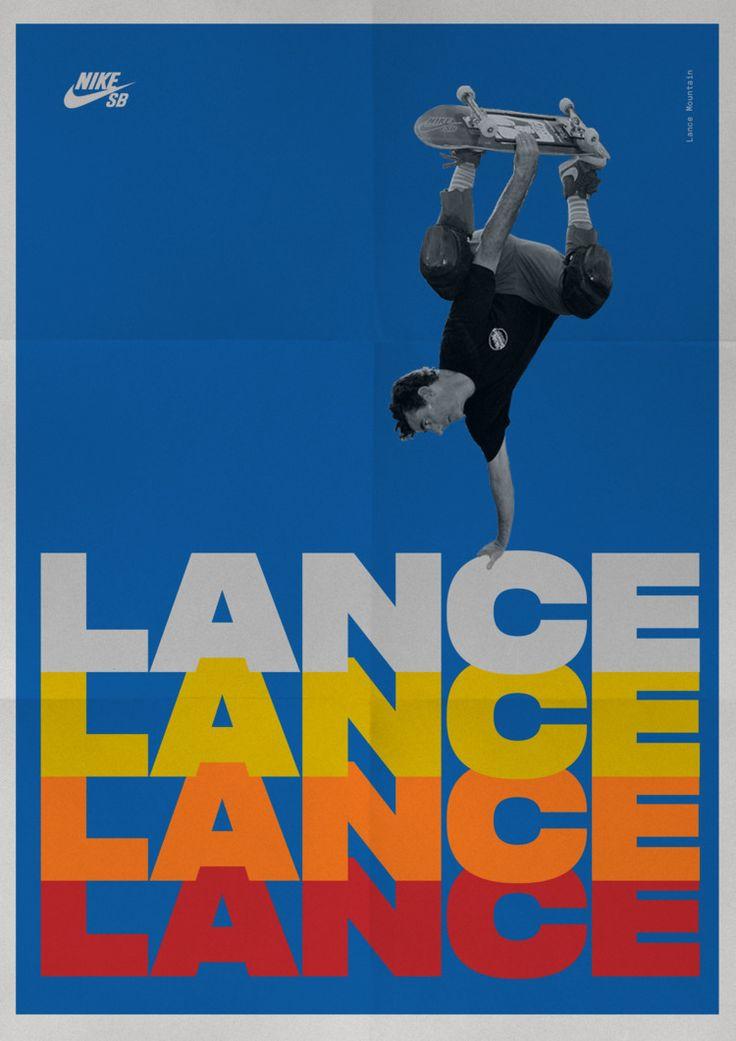 Nike SB. Lance Mountain