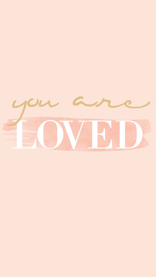 You are loved. Whether you've reached your goal weight or you're still on your way there, remember to love you!