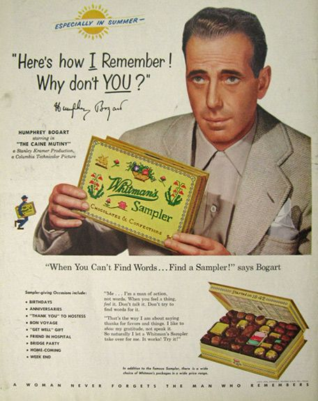 45 Best Celebrity Endorsement Print Ads (1940s) images ...
