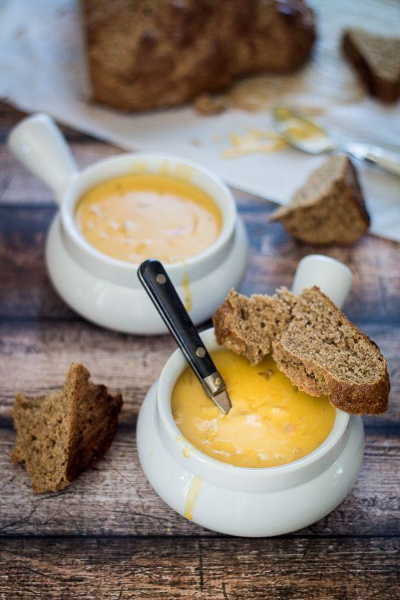 30 Minute German Beer Cheese Soup (Oktoberfest!)