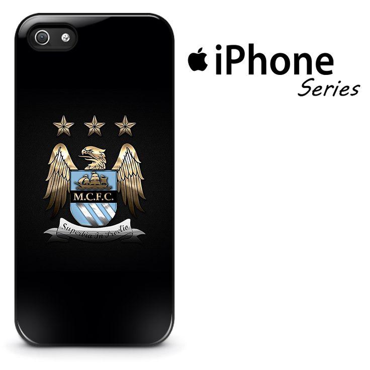 Manchester City Logo Carbon Fiber Phone Case | Apple iPhone 4/4s 5/5s 5c 6/6s 6/6s Plus 7 7 Plus Samsung Galaxy S4 S5 S6 S6 Edge S7 S7 Edge Samsung Galaxy Note 3 4 5 Hard Case #AppleiPhoneCase #SamsungGalaxyCase #Yuicasecom