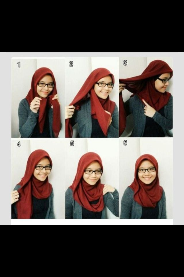 Hijab with glasses