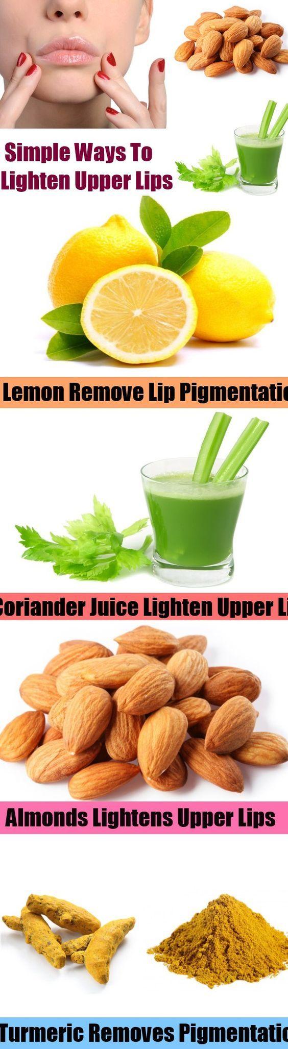 Simple Ways To Lighten Upper Lips