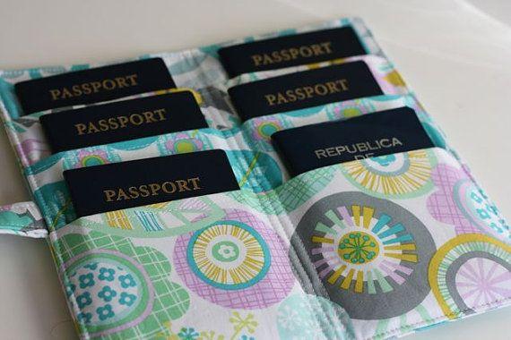 Famille Passport Wallet modèle PDF par OneShabbyChickHawaii