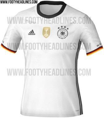 Desvelado el uniforme de Alemania para la Euro 2016