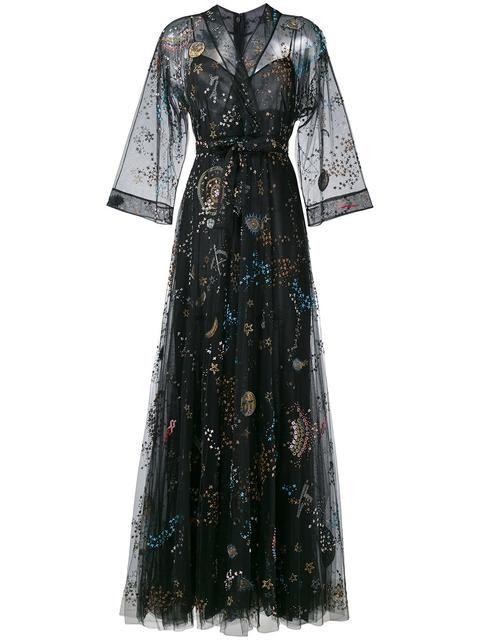 Shoppen Sie Valentino 'Astro Couture' Abendkleid in Braun aus der weltbesten …   – C`est Chic