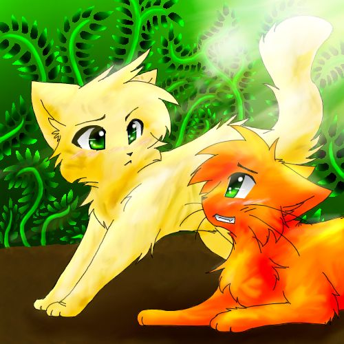 My favorite warrior cat, Sandstorm - warriors-novel-series Fan Art