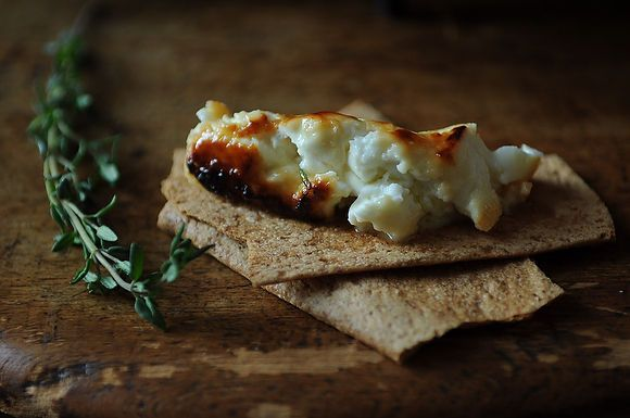 Roasted Feta with Thyme Honey: Remodelista