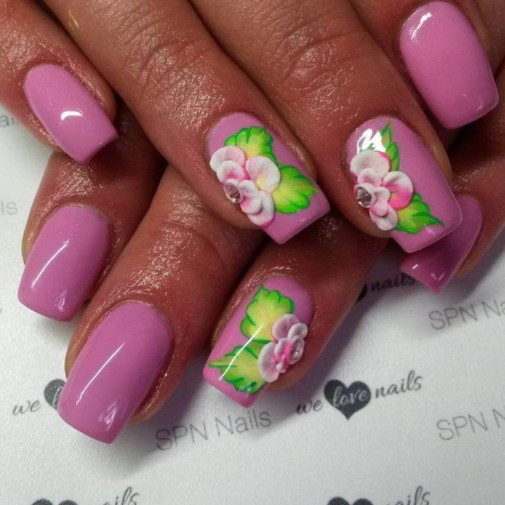 Best 25+ 3d acrylic nails ideas on Pinterest | 3d nail art ...