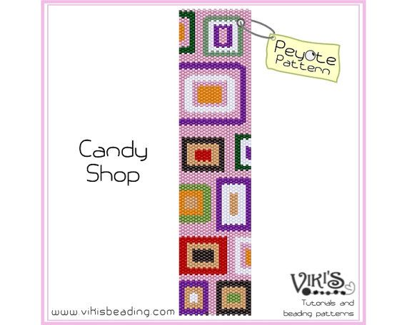 The 25 best discount codes ideas on pinterest discount coffee peyote stitch pattern candy shop for cuff by vikisbeadingpatterns 650 fandeluxe Choice Image
