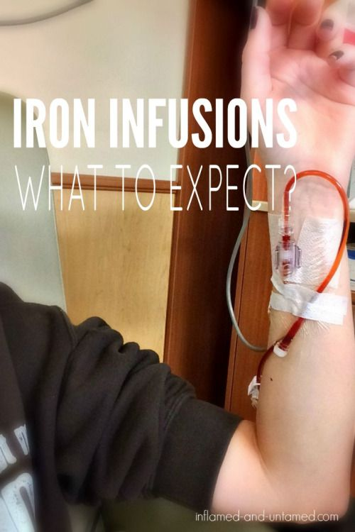Iron infusions. What can you expect if you have Crohn's disease or ulcerative…