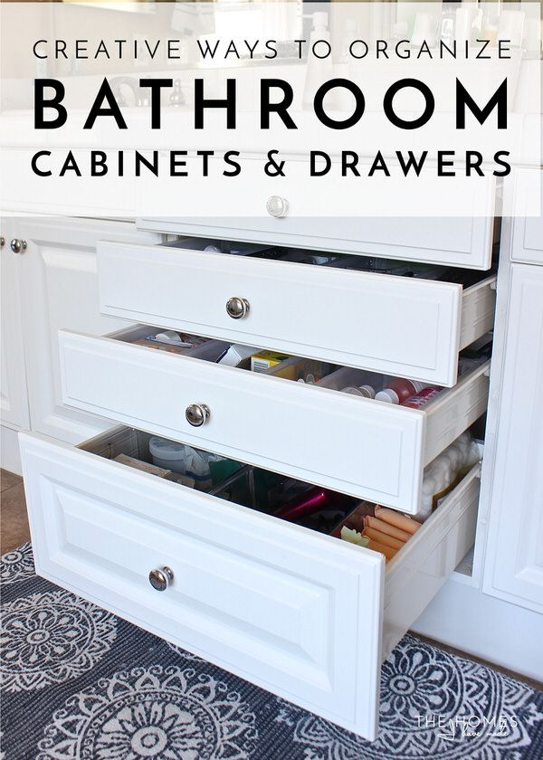 791 best decorate organization images on pinterest organizing ideas organizing tips and for How to organize bathroom drawers
