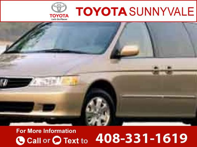 2002 *Honda*  *Odyssey* *EX*  263k miles Call for Price 263111 miles 408-331-1619 Transmission: Automatic  #Honda #Odyssey #used #cars #ToyotaSunnyvale #Sunnyvale #CA #tapcars