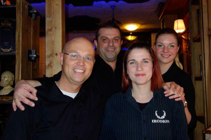 Het enthousiaste team van Irodion.