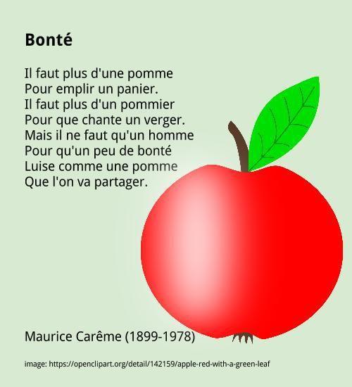 Top Les 25 meilleures idées de la catégorie Maurice careme poeme sur  BX67