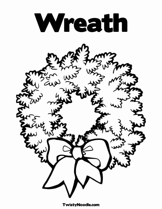 Advent Wreath Coloring Page Awesome Advent Wreath Coloring Pages Coloring Home Christmas Wreath Clipart Printable Christmas Coloring Pages Wreath Drawing