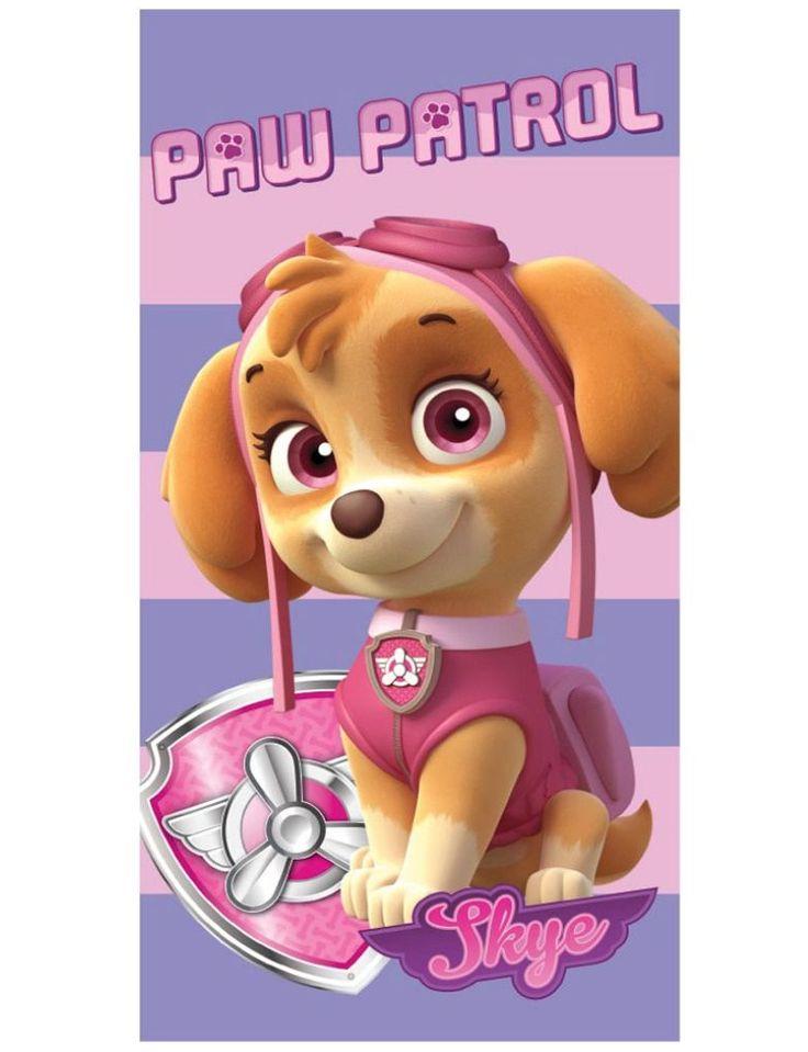 Paw Patrol Handdoek van de Puppy Skye