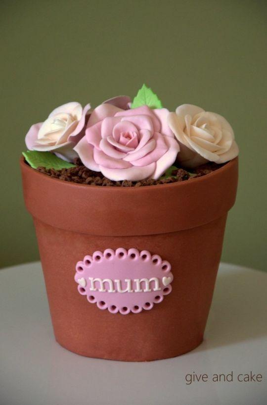 flower pot cake                                                                                                                                                                                 More