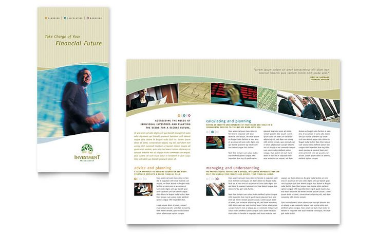 Free brochure templates tri fold brochure word for Brochure pdf template