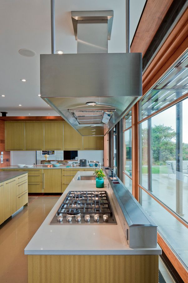 The idea of being able to easily clean behind the stove and sink is very appealing.