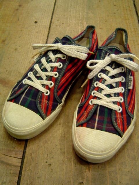 1980's VANS CANVAS-SNEAKER(MADE IN USA)