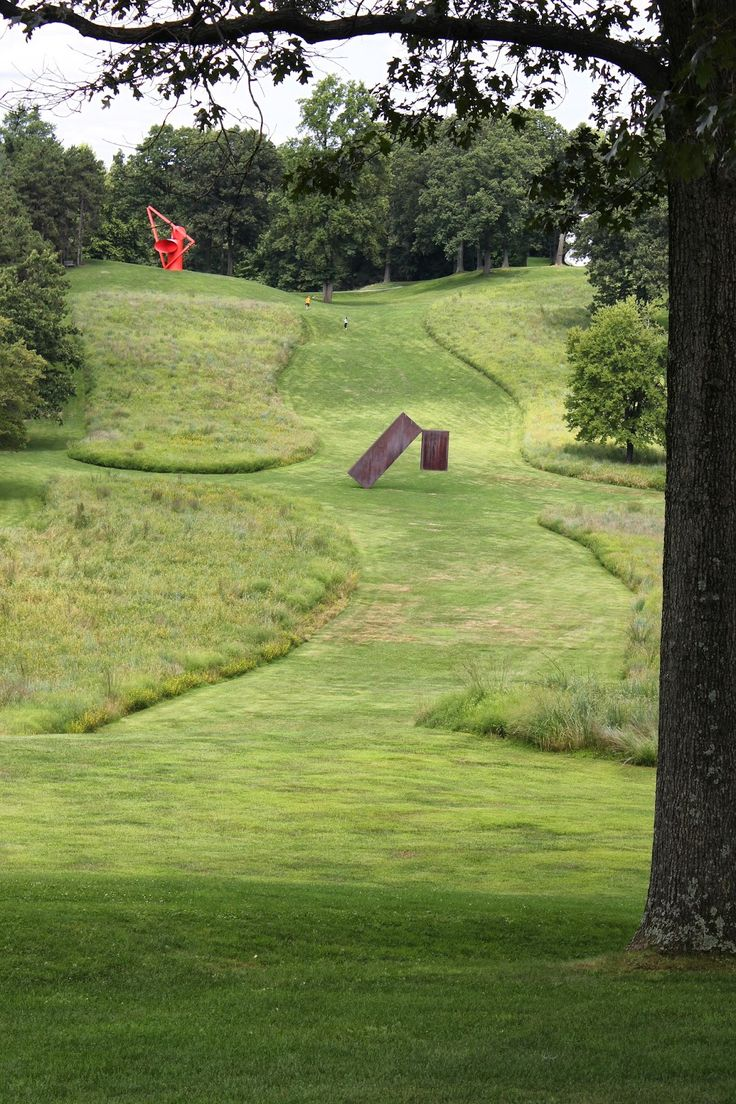 Storm King Art Center,  Hudson Valley, NY photo by Jan Johnsen