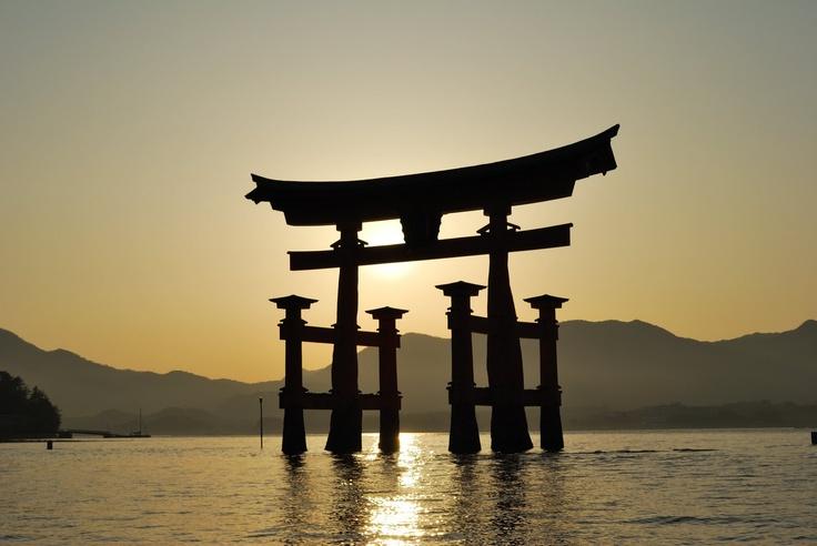 TORII ... Itsukushima shrine