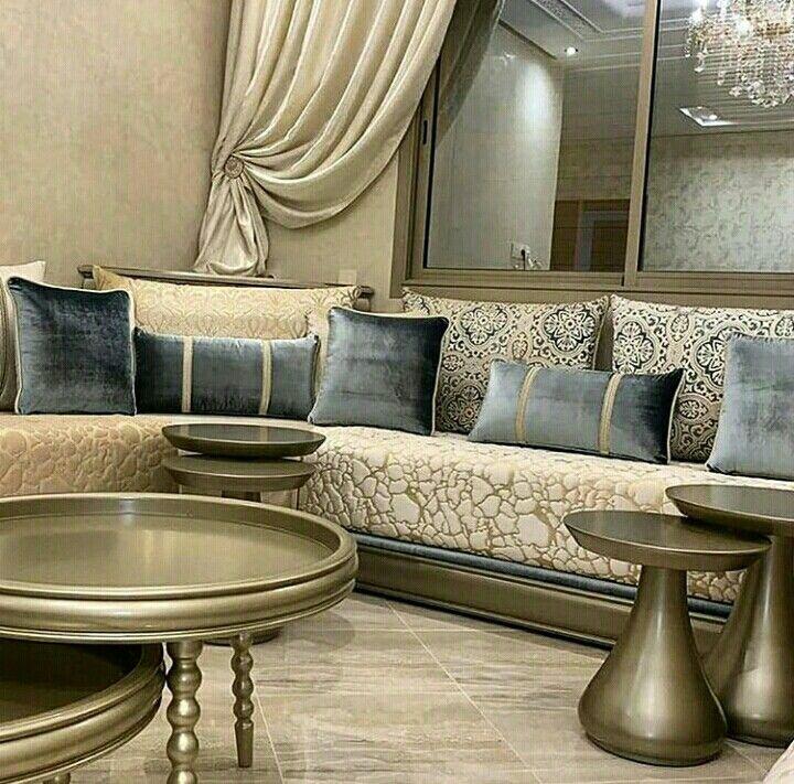 Pin By Hana Almajed On ديكورات مفارش Decorations De Mattresses Living Room Design Inspiration Moroccan Living Room Elegant Living Room Decor