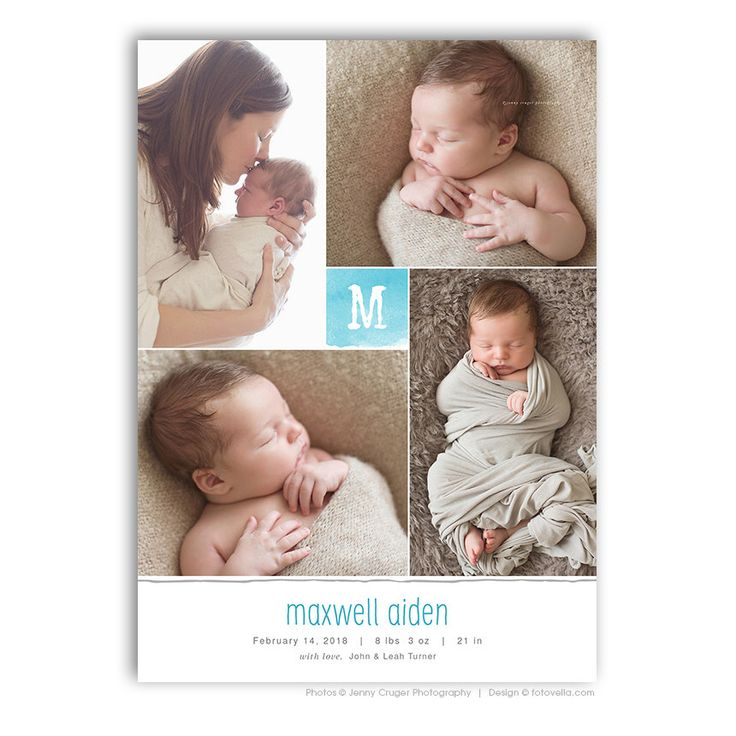 14 best Birth Announcements images – High End Birth Announcements