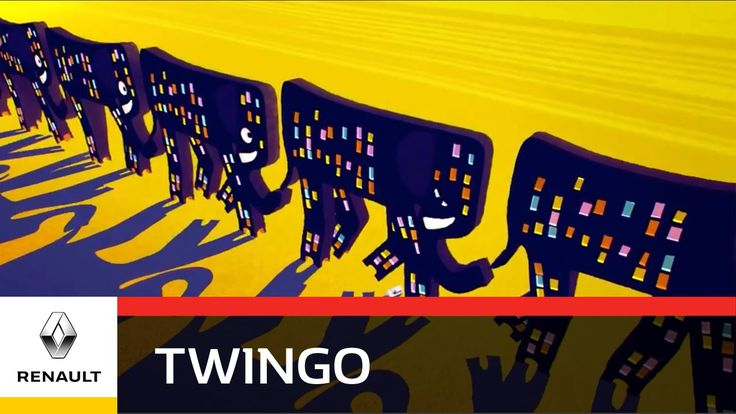 Renault Twingo - Elephants - Go Anywhere, Go Everywhere!