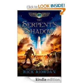 #7: The Serpent's Shadow (The Kane Chronicles, Book Three)