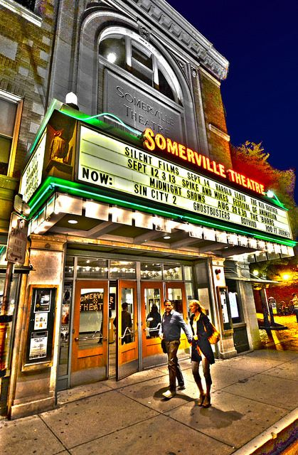 Somerville Theater, #Somerville MA | DiscoverDavisSquare.com