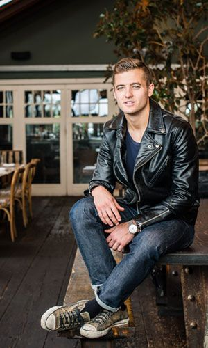 Insider L.A.: Robbie Rogers - Robbie Rogers photographed at Eveleigh. (Photo by David Lauridsen) - See more: http://deltaskymag.delta.com/Destinations/Los-Angeles/Destination-Posts/Where-to-Hang-in-L-A-.aspx