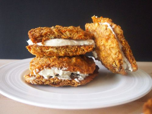 Labor Day Dessert: Carrot Cake Ice Cream Cookie Sandwiches. This ...