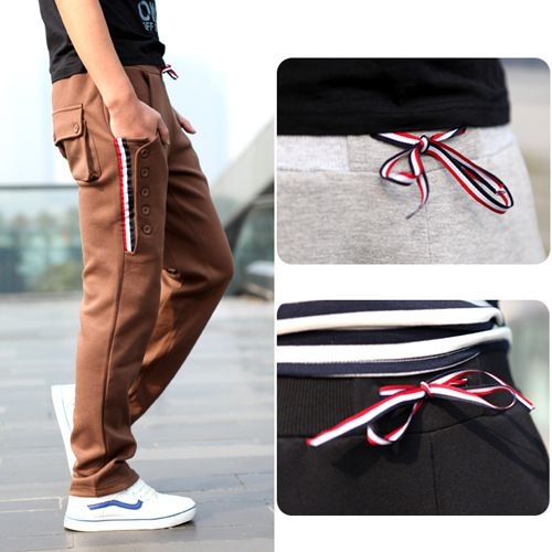 Find More Pants Information about 2014 New Casual Korean Style Men's Joggers Harem Sweatpants Loose Style Drawstring Outdoor Sport Baggy Pants for Man Black /Gray,High Quality sport boat,China sport pant Suppliers, Cheap sport wear pants from Amazing Excellent on Aliexpress.com