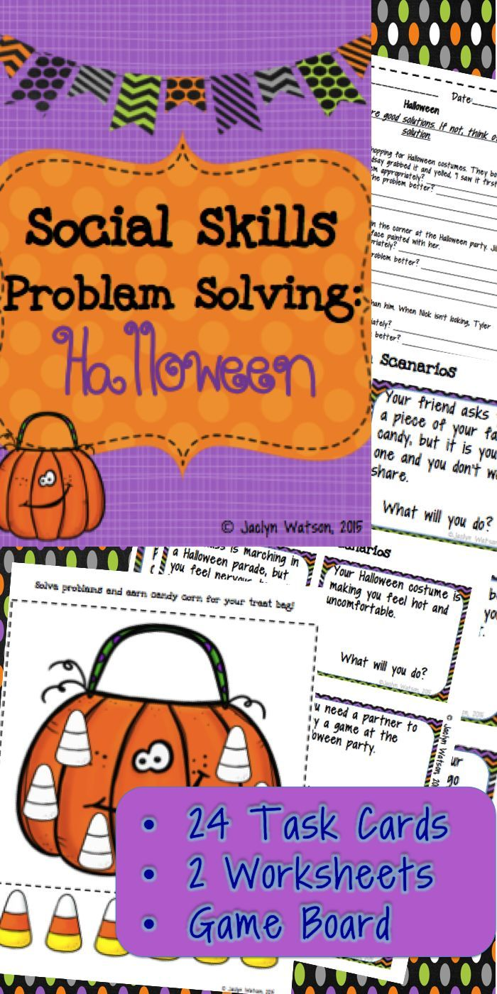 10 FREE ESL Problem Solving worksheets