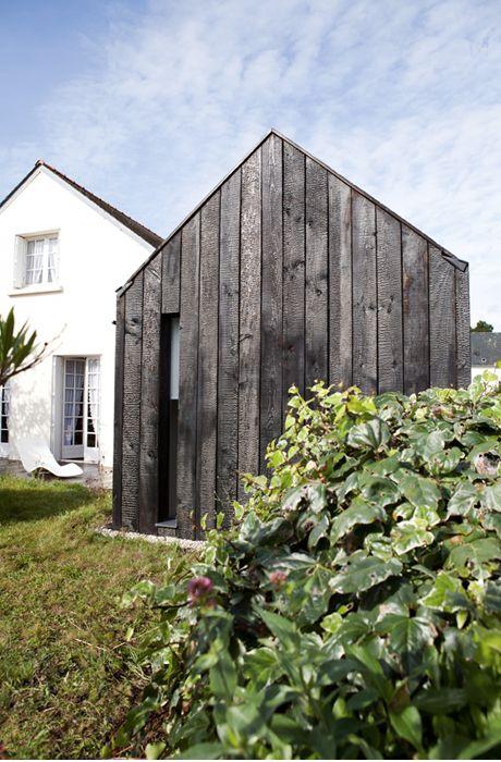 Les 14 meilleures images propos de facades bois sur pinterest - Reste de bois brule synonyme ...