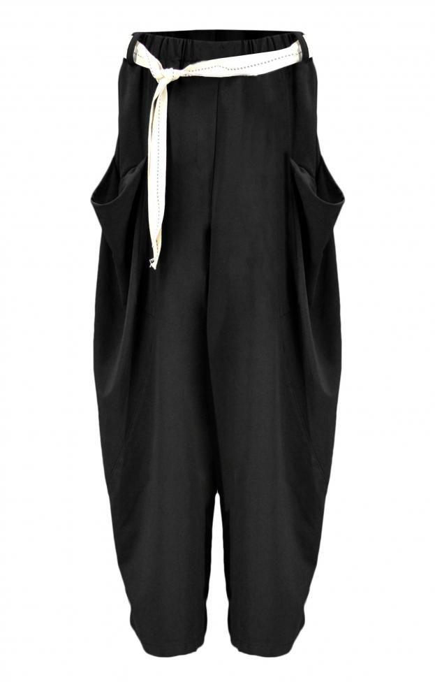 Γυναικείο παντελόνι φαρδύ  PANT-4976-bc Παντελόνια - Γυναίκα