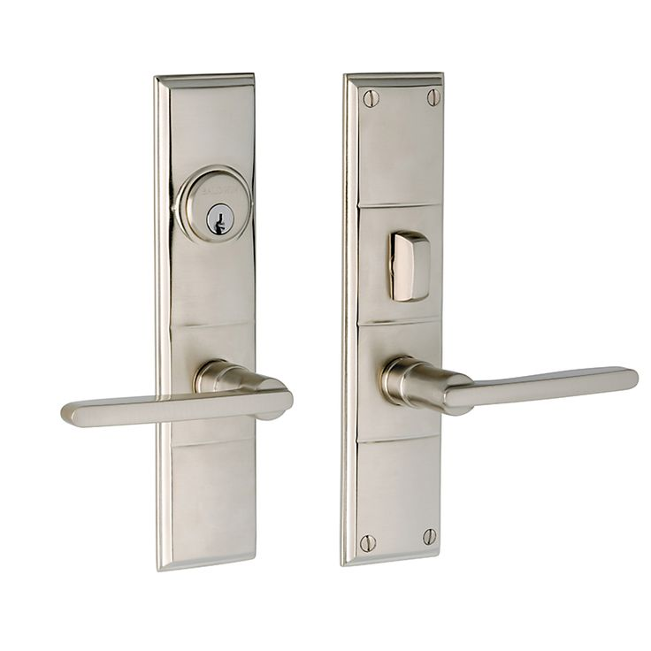 Exceptional Home :: Locksets U0026 Deadbolts :: Handle Sets :: Baldwin 6973 Entry Houston  Entry Trim, Satin Nickel