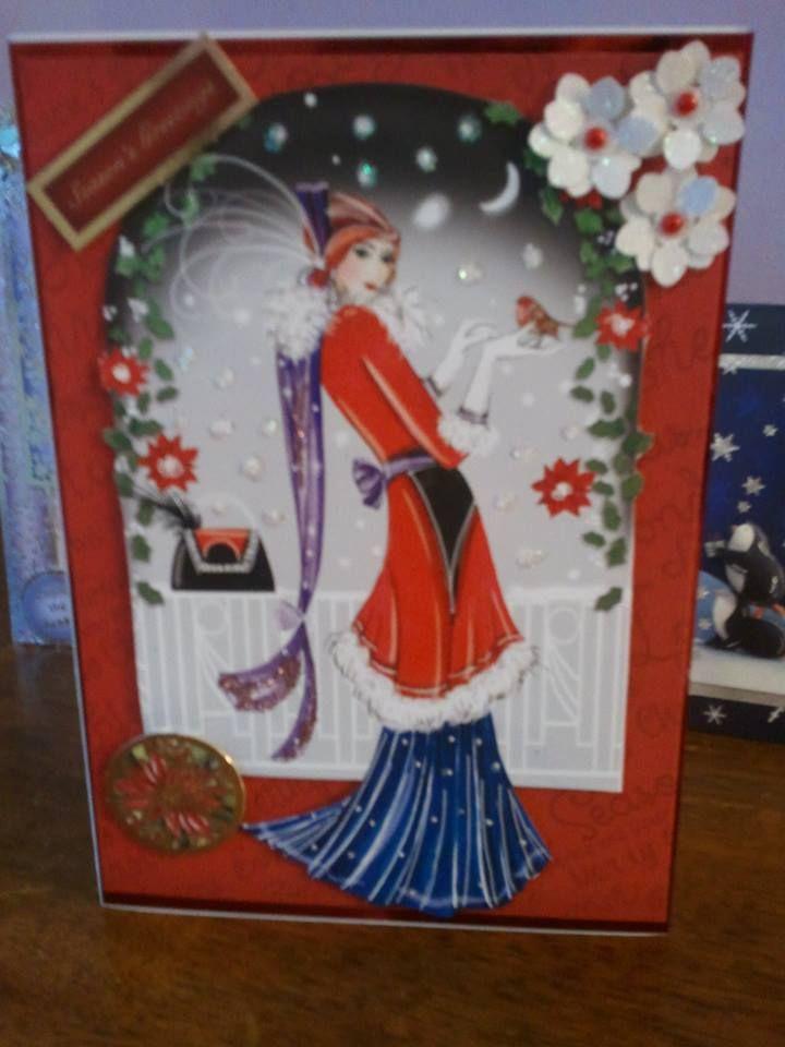 christmas card hunkydory