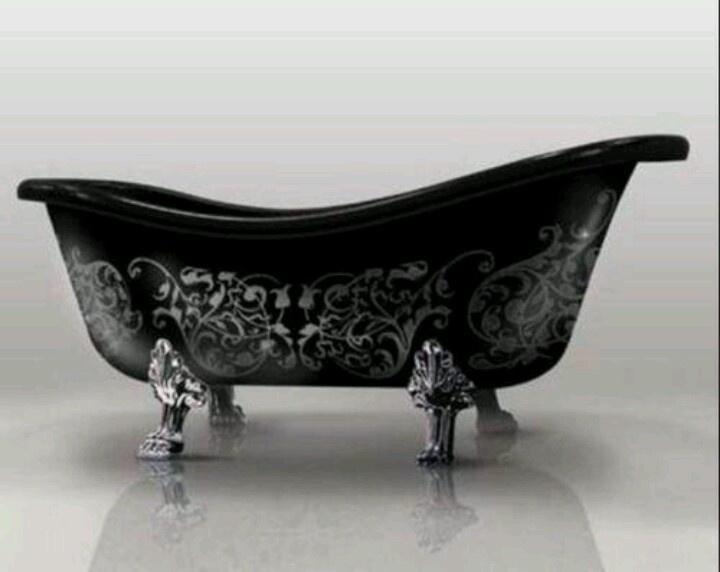 Gothic clawfoot tub