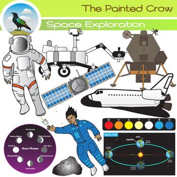 Half price through January 2nd. 26 piece Space Concepts and Exploration set. This set contains diagrams of earth's orbit, moon phases, and star classifications (coolest to hottest). It also includes astronauts and a variety of space technology.