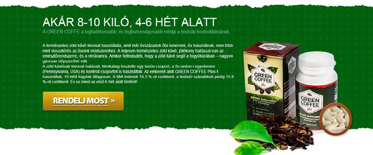 A GREEN COFFEE Plus egy olyan forradalmi formula, ami csak úgy falja a kilókat. Azoknak lett kitalálva, és megalkotva, akik fogyni…