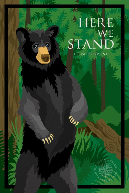 """Here We Stand: House Mormont - Deviant Artist """"windsofbeleriand"""""""