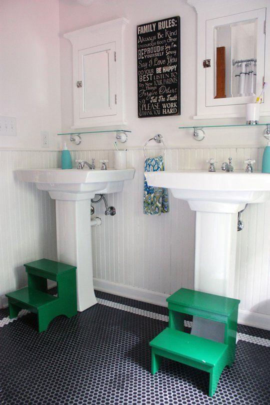Problems & Solutions: 5 Ways to Make a Bathroom More Kid-Friendly