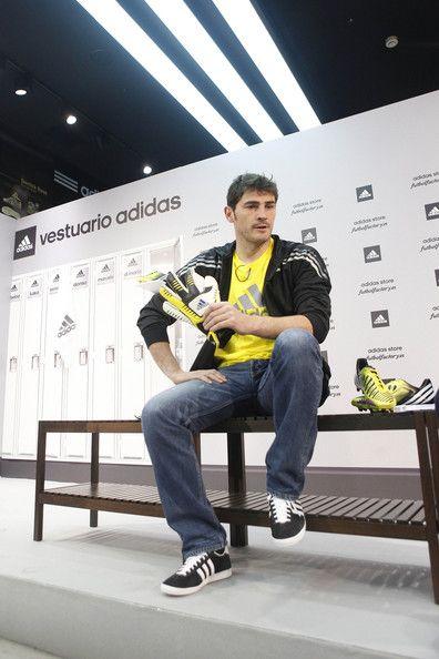 Iker Casillas - Iker Casillas Helps Launch the New Adidas Shoe
