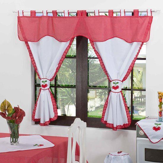 17 mejores ideas sobre cortinas para cocina en pinterest - Cortinas para pasillos ...